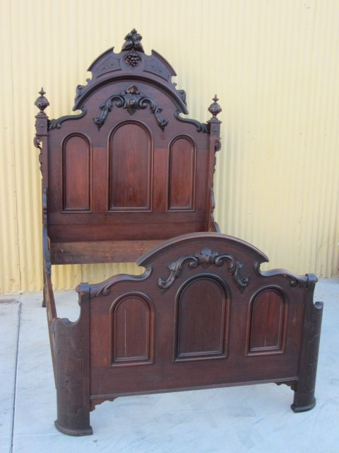 American Antique Bed Victorian Antique Bedroom Furniture