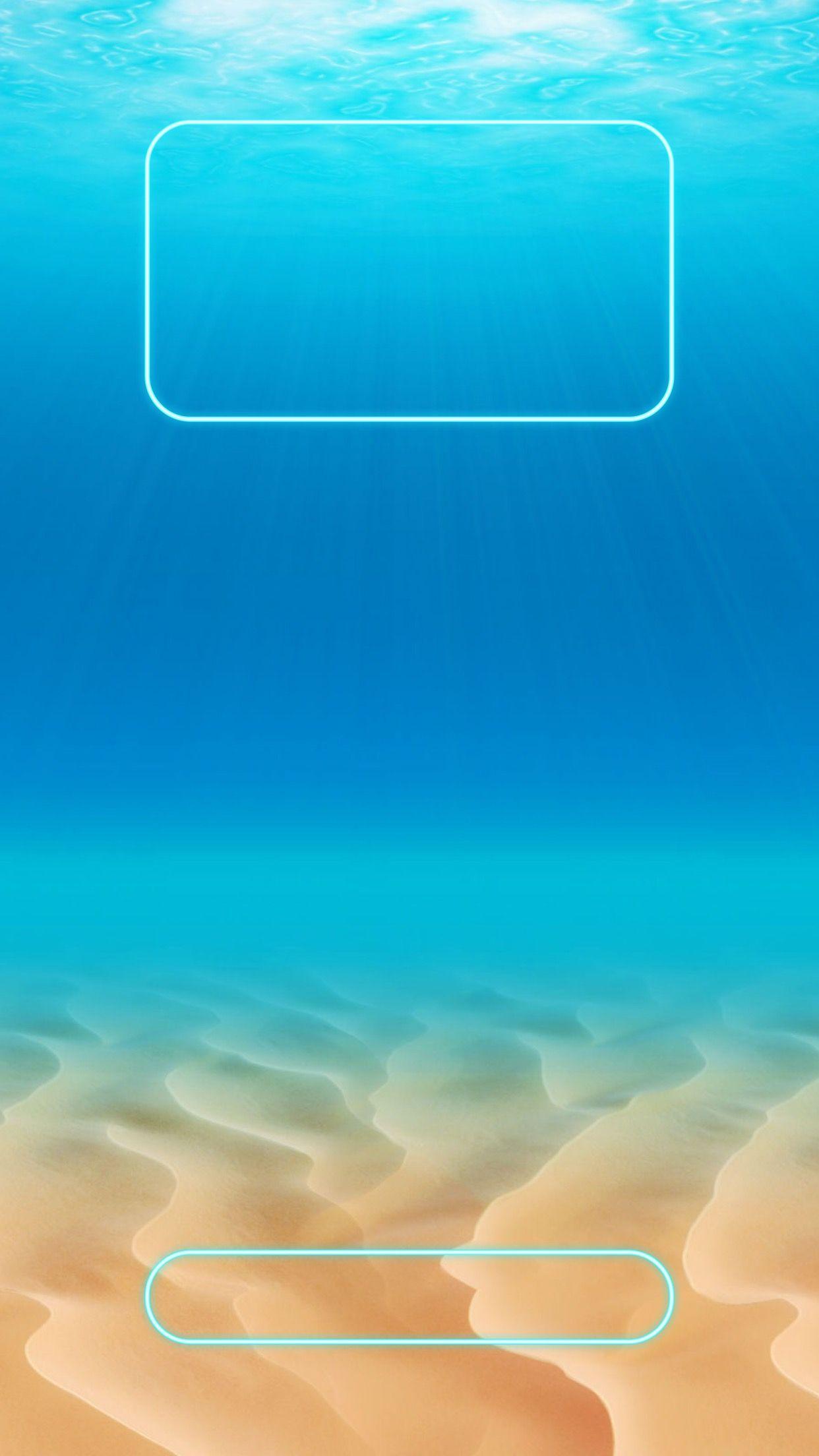 Tap And Get The Free App Lockscreens Art Creative Sand Sea Sun Water Blue Yellow Hd Iphone 6 Plus Lock Screen Iphone Wallpaper Iphone Lockscreen Wallpaper