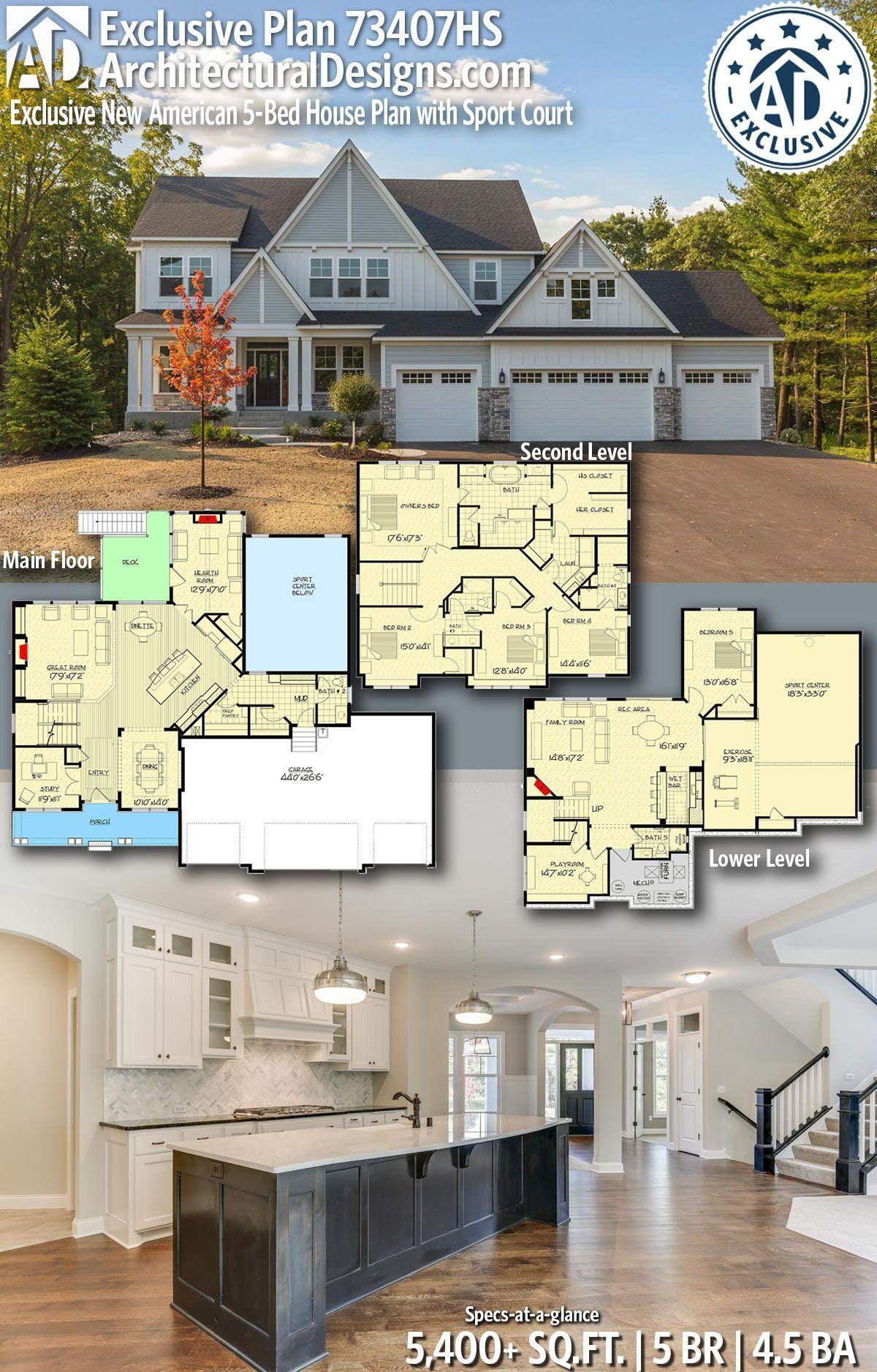 American House Model Design 2021 House Plans American Houses House