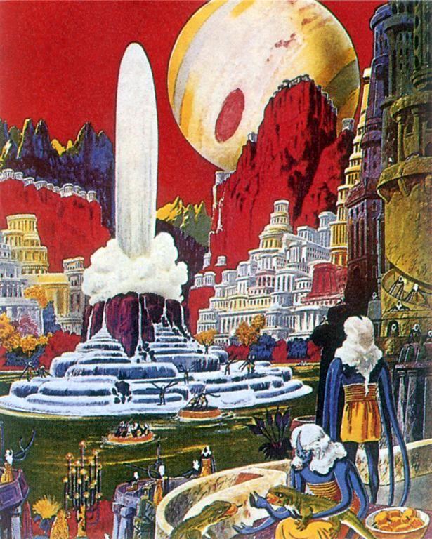 Vintage Sci Fi Illustrations Retro Science Fiction: Science Fiction Vintage