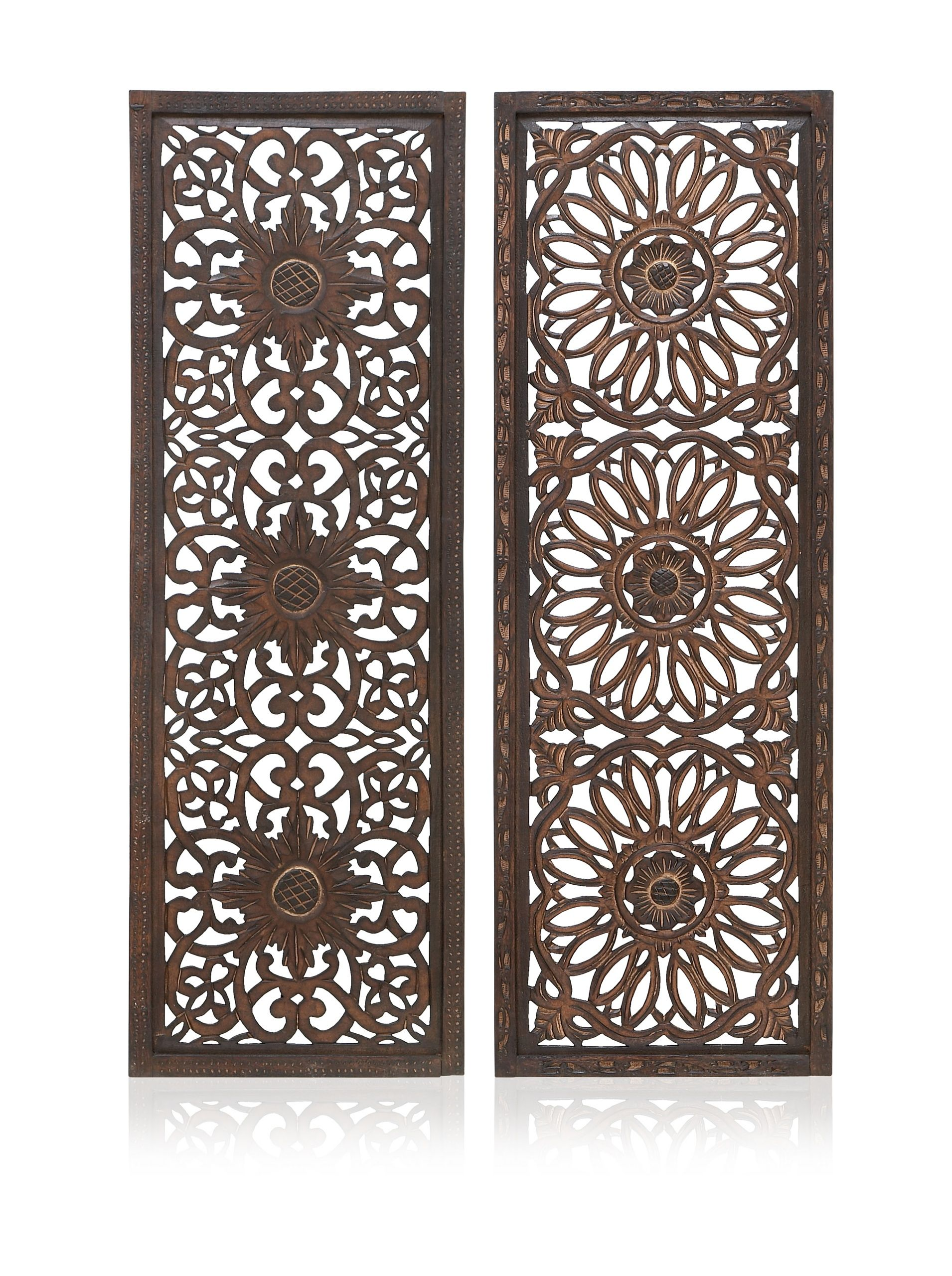 Set of 2 Assorted Wall Panels, Multi at MYHABIT