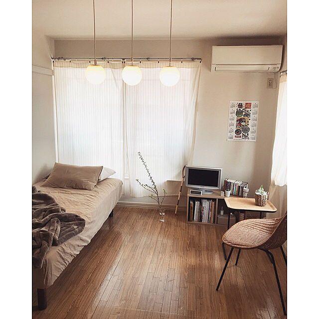 6畳1kのレイアウトのコツ 部屋の形別のインテリア実例55選 Yotsuba よつば 1k レイアウト 6 畳 一人暮らし部屋レイアウト 部屋 レイアウト ワンルーム