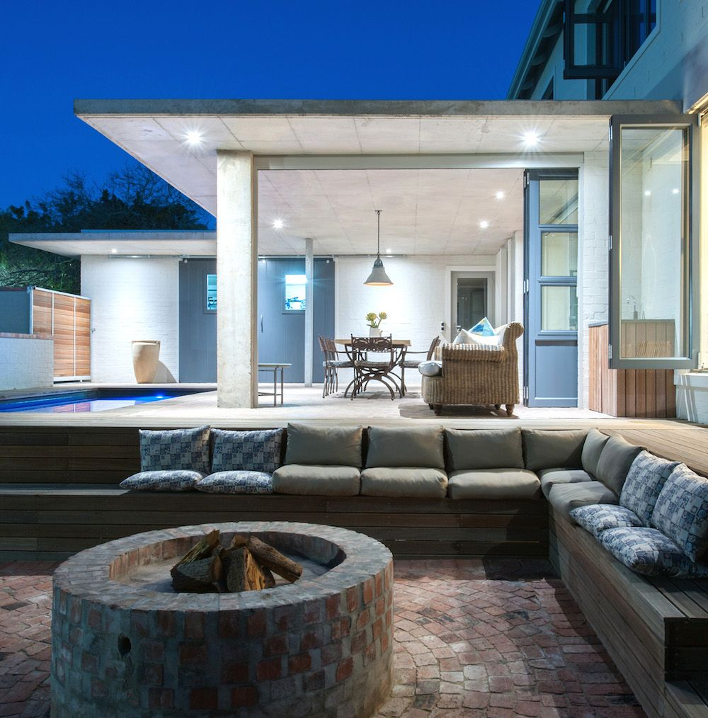 HOUSE van der Merwe | Pool entertainment area, Pool ... on Garden Entertainment Area Ideas id=50184