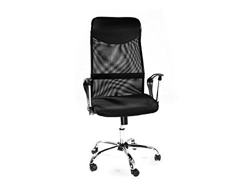 Office Marshal Hyperion Complete Back Support Office Desk Chair Up To 300lb Capacity With Mesh Padded Seat And Weight Adju Office Desk Chair Desk Chair Office