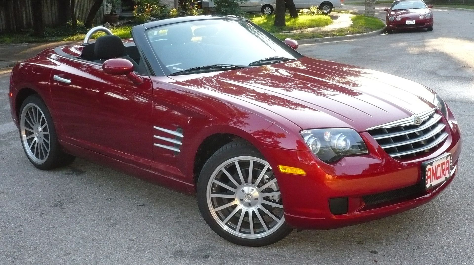 Crossfire Convertible List Of Chrysler Vehicles Wikipedia