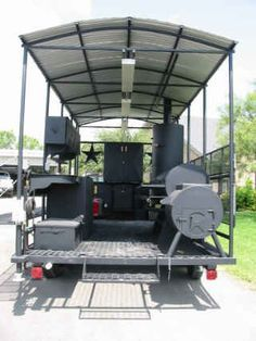 Lyfe Tyme BBQ Custom Trailer - Now this is a BBQ Cooker