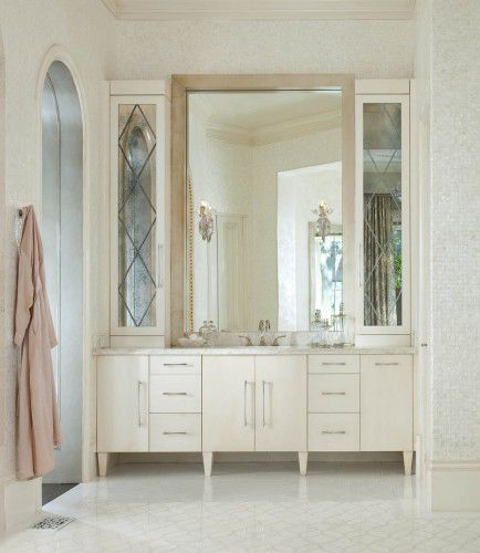 Dallas Bathroom Vanities: This Master Bathroom, Completed By Dallas Design Group