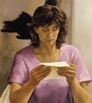 Jana reading - Peter Churcher