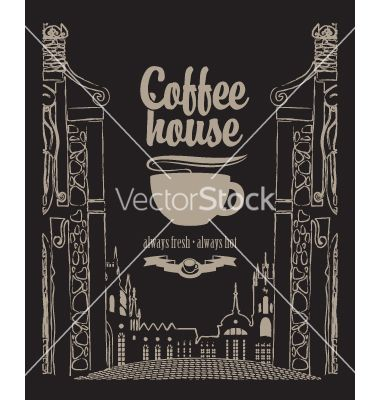 Coffee house vector  - by paseven on VectorStock®