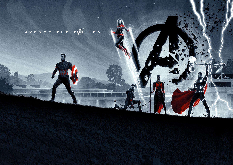Avengers: Endgame [3000×2122] 4K
