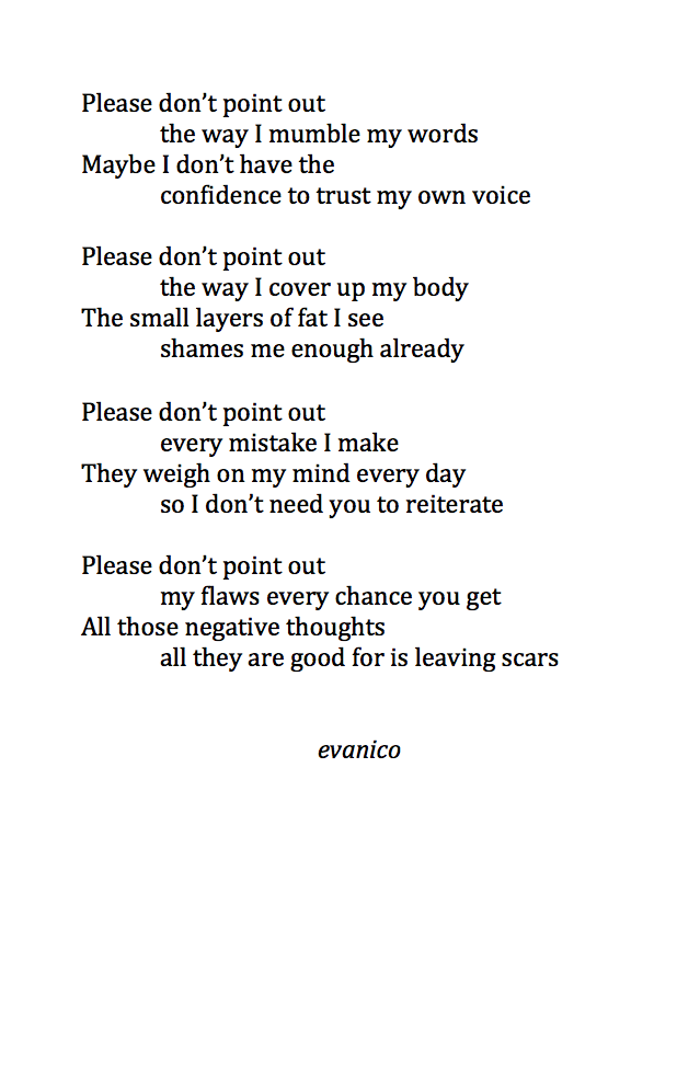 Great Poem From Evanico Follow Him On Tumblr The Story Of My