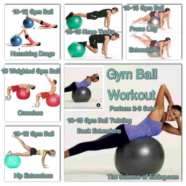 Workout Gym Ball 2