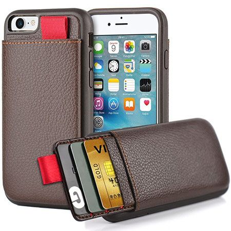finest selection 2fcc5 5b490 LAMEEKU Shockproof Card Holder Case | Apple | Iphone 6 wallet case ...