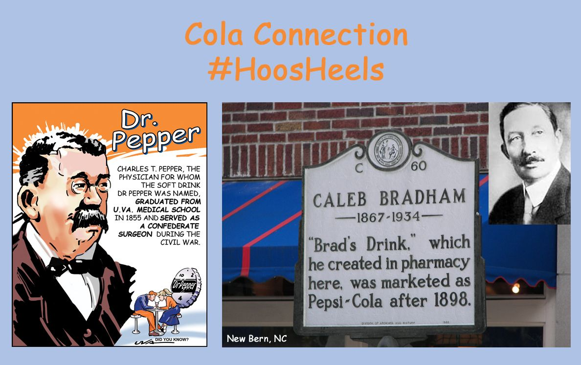 Cola Connection: #UNC alum Caleb Bradham invented Pepsi, and