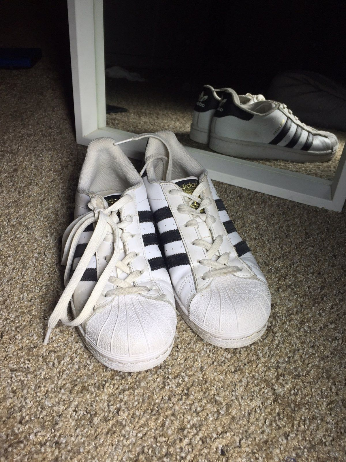Used adidas shoes, still in good