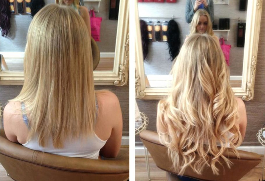 the always talented team at ashleigh hair extensions show what a