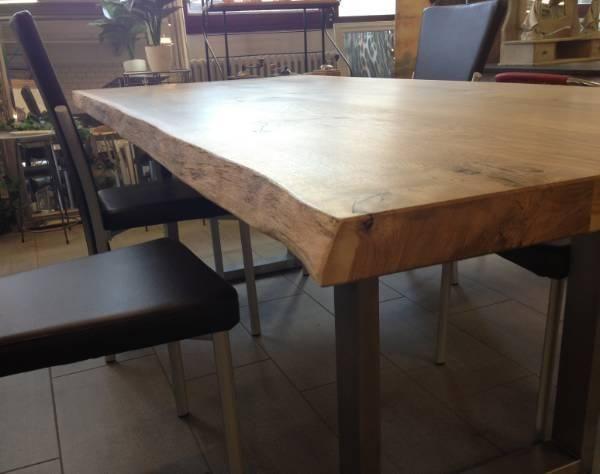 Tisch Holztisch Tische Wildeiche Tisch Wildeichetisch Massiv In
