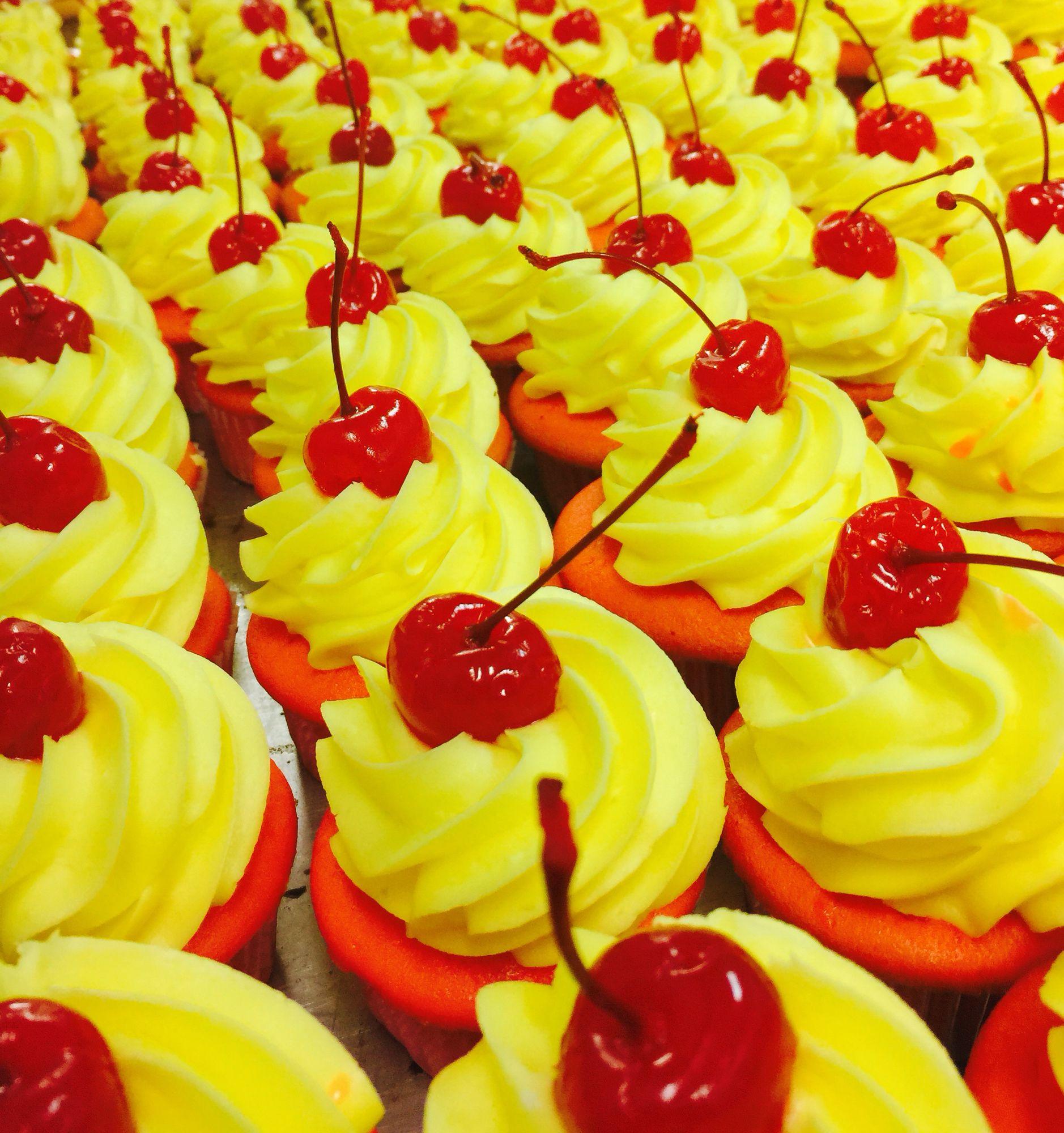 Cherry Lemon Sundrop Cake
