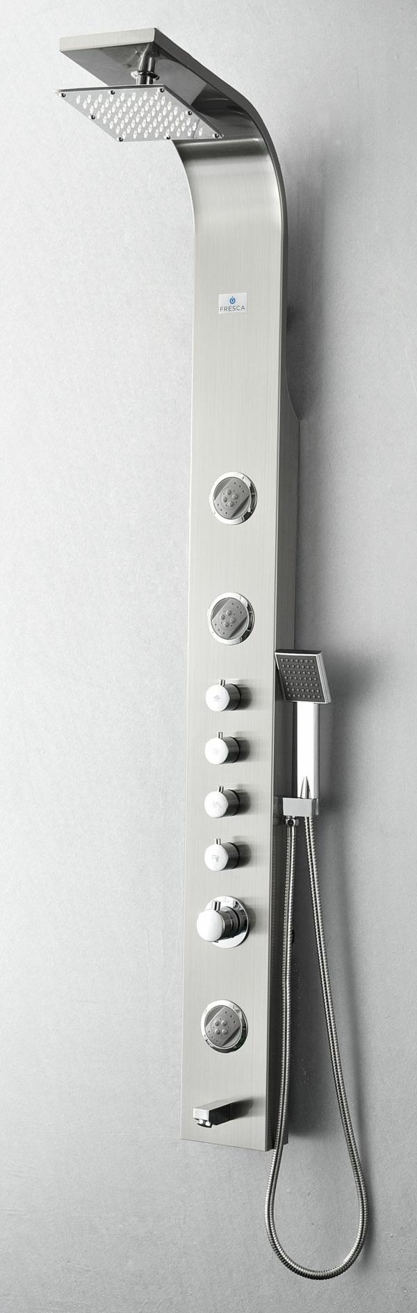Duschpaneele Sorgen Fur Eine Moderne Badezimmergestaltung Dusche Moderne Dusche Badezimmergestaltung