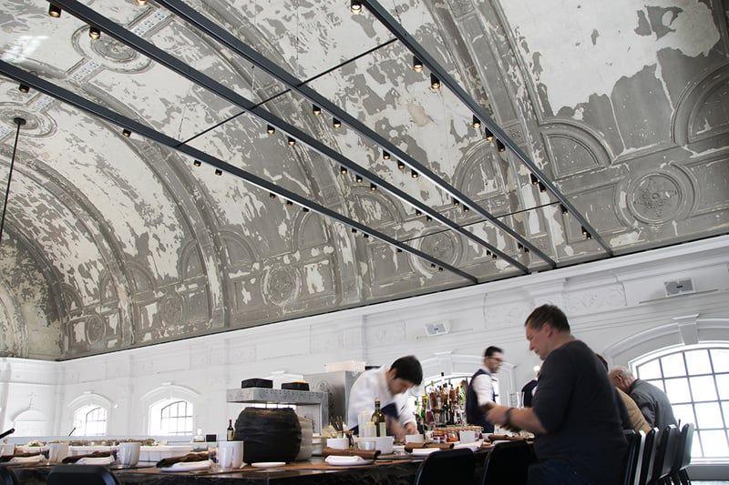 The Jane Antwerpen : The jane antwerpen: spektakuläres restaurant das gemütlichkeit und