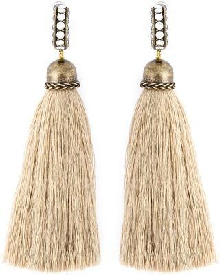 On Sale! LANVIN tassel earrings