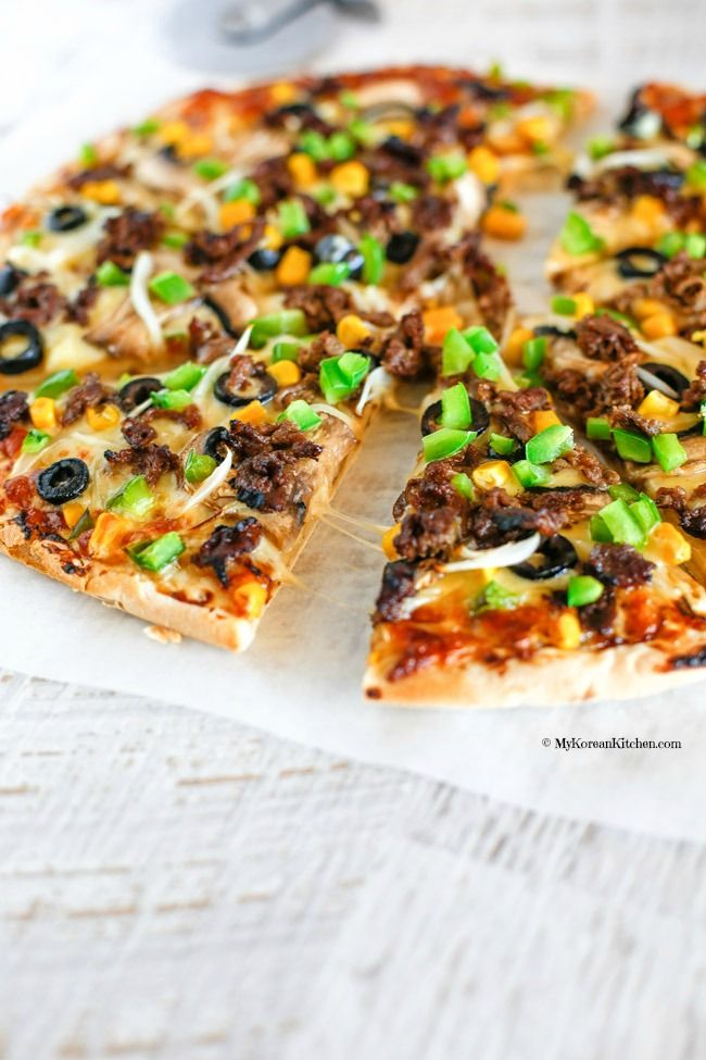 bulgogi pizza recipe in 2018 food pinterest bulgogi korean