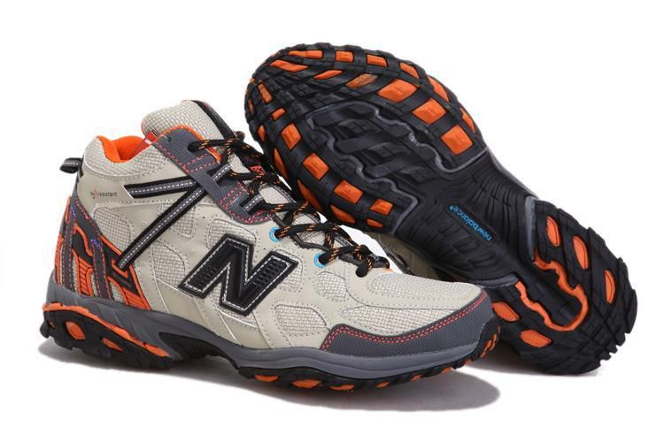 Sale Discount New Balance NB Grey Orange cream coloured For Men climbing  boots Fashion Shoes Shop