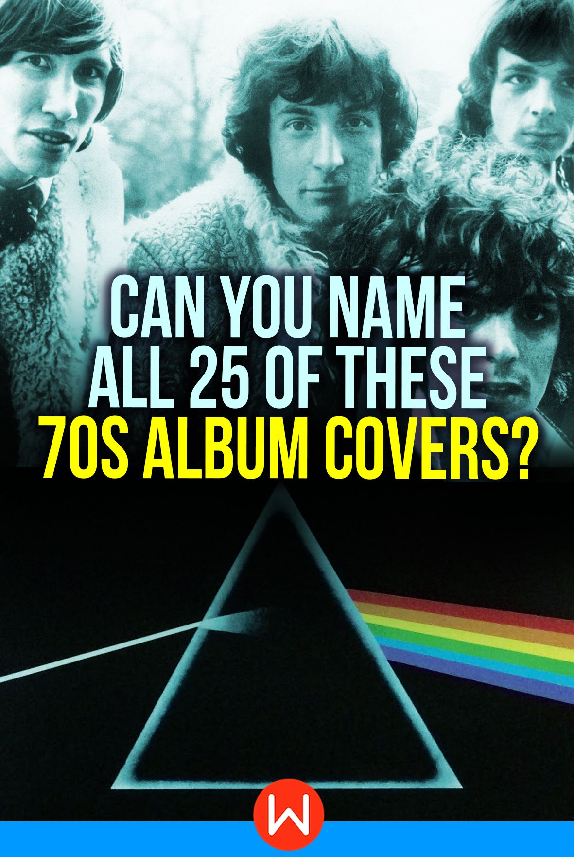 Are You 70s Music Savvy Album Cover Memory Game Quiz Can Remember These Iconic Covers From Pink Floyd Dark Side Of The Moon