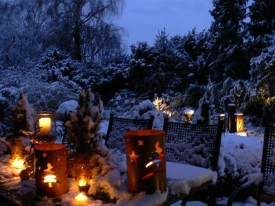 garten im winter wohnen und garten foto deko f r den garten pinterest garten. Black Bedroom Furniture Sets. Home Design Ideas