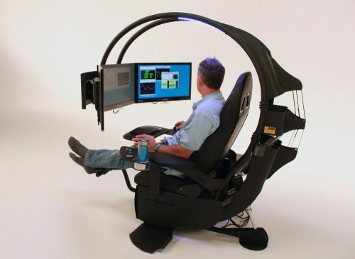 Luxuryon Computer Workstation Computer Chair Workstation