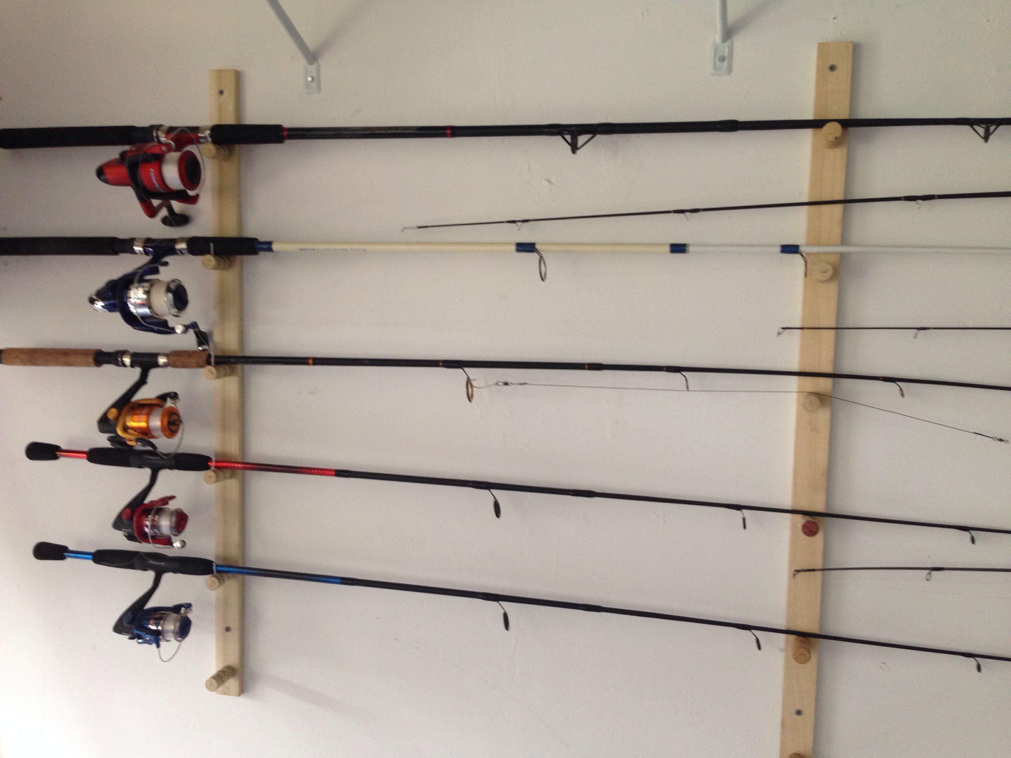 Share for Fishing rod holders for home