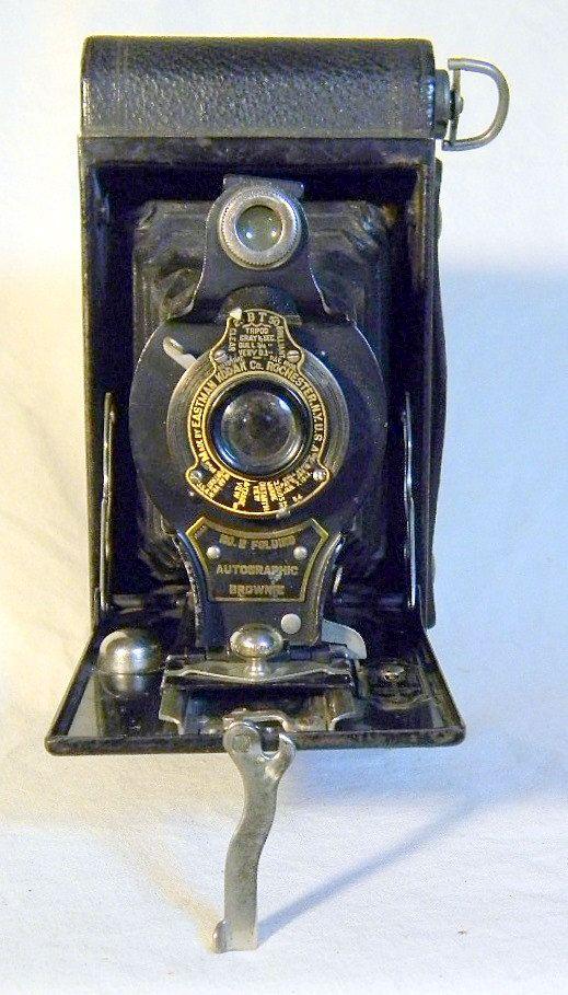 No 2 Folding Autographic Brownie Camera