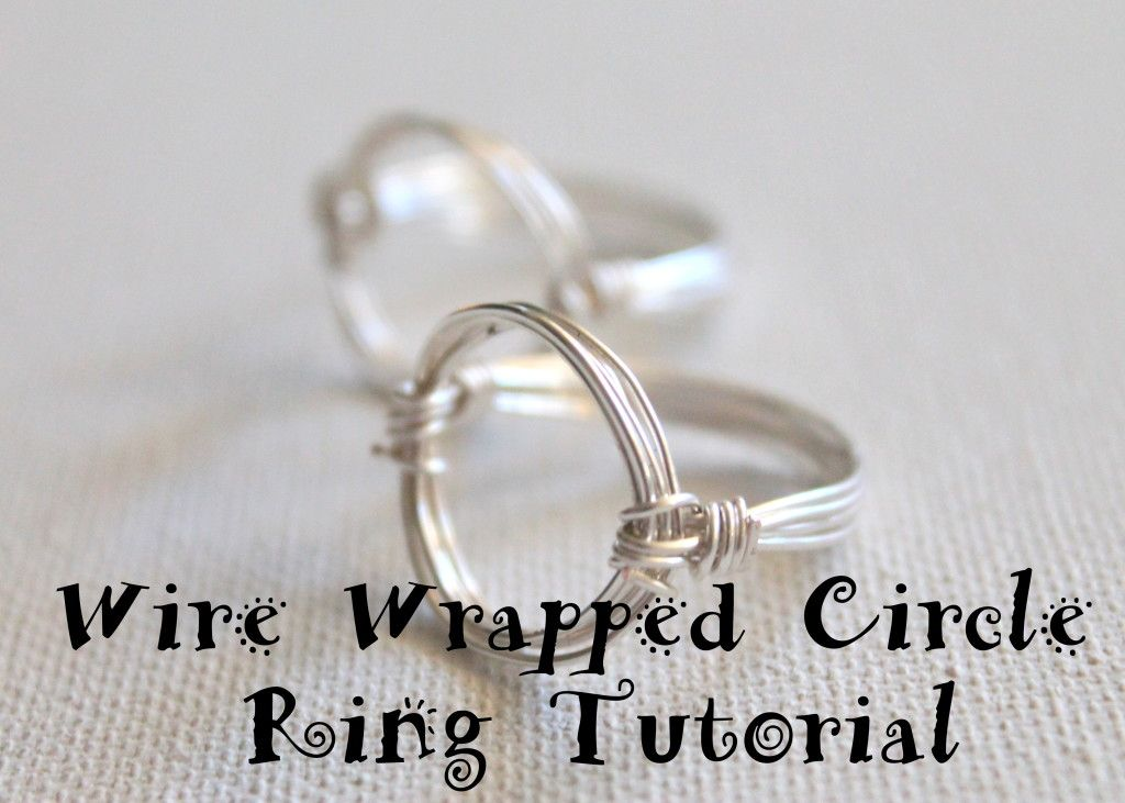 video tute for wire ring (scroll down for variation using beads ...