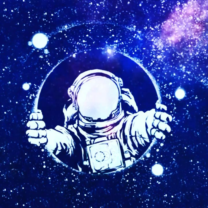 Gambar Astronot Animasi