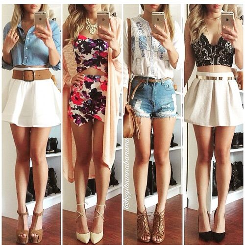 Image via We Heart It #accessories #blonde #blue #clothes ...