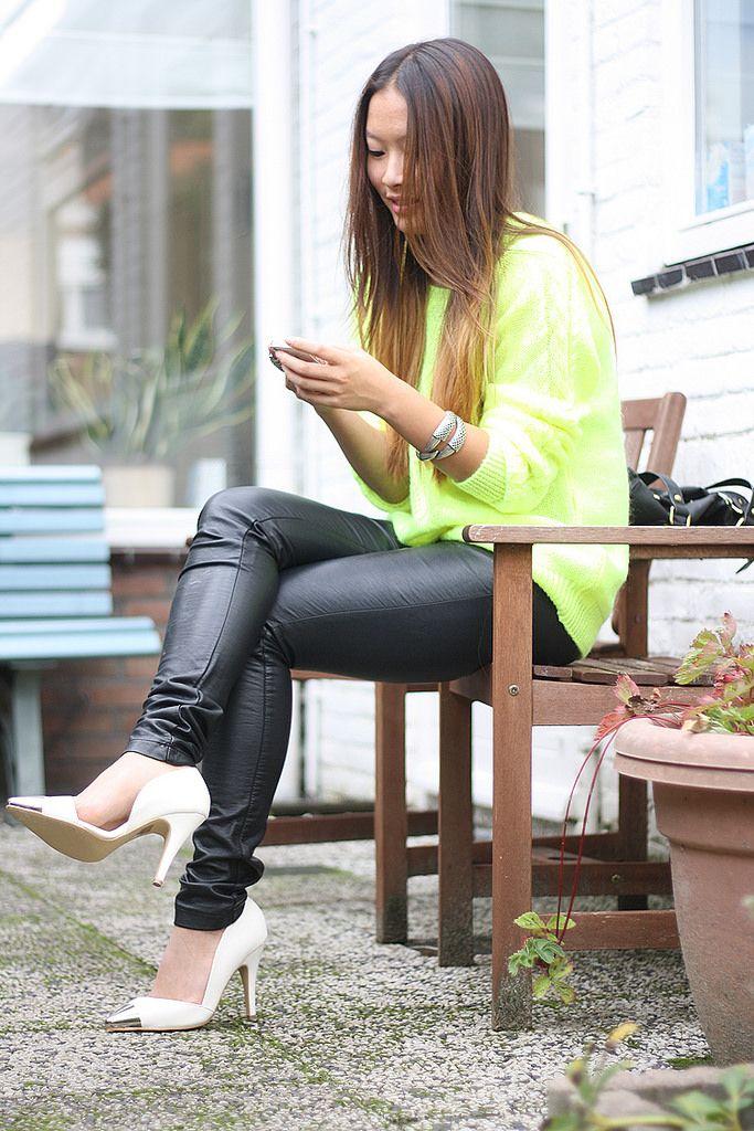 Leather Accent Tag - 20s girl by VIDA VIDA badn3vmDRR