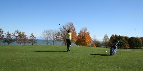 Warnimont Park Golf Course - great view of Lake Michigan  Par: 54  Yards: 2,717