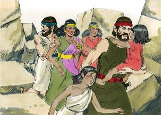 Image result for Rahab and her family bible