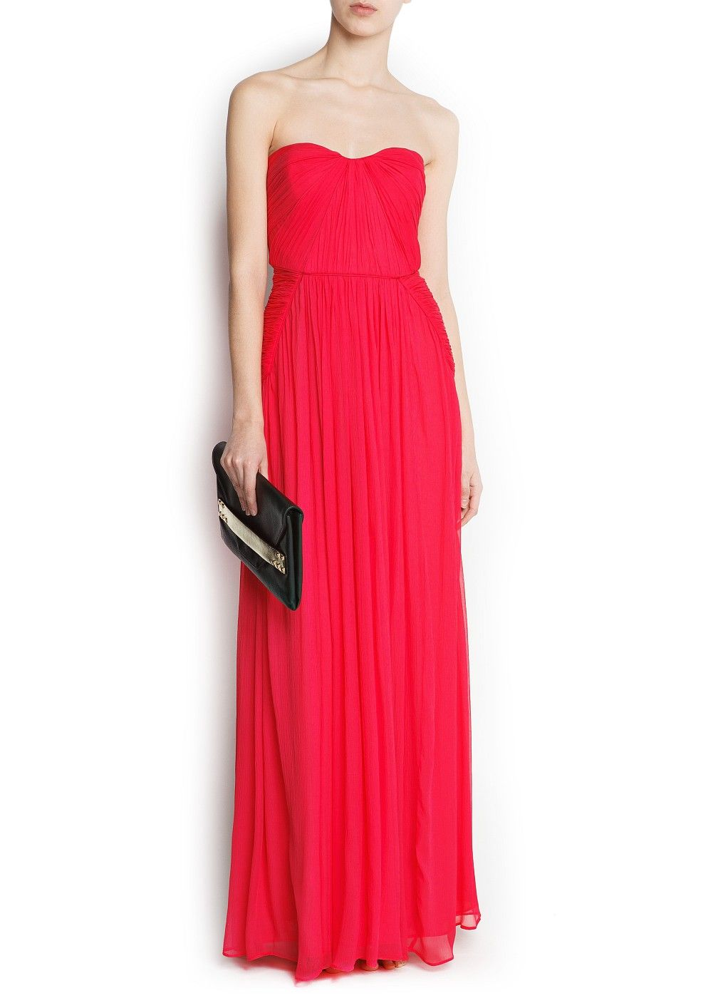 Robe longue soie - Femme   Robe, Clothes and Moda f12e8cf2e554
