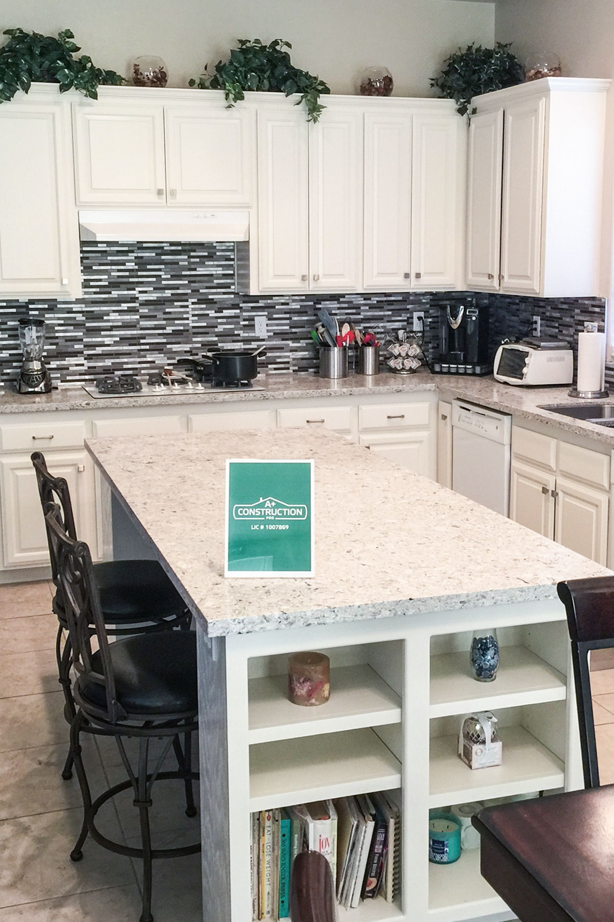Quick and easy way to refresh your kitchen while working with a
