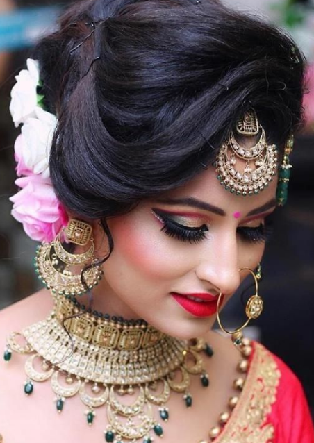 Indian Bridal Hairstyles 2020 With HD Pictures in 2020