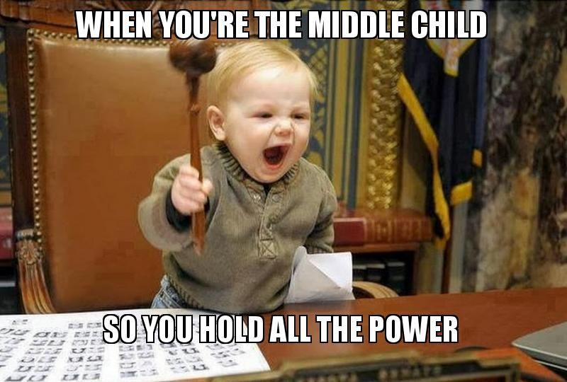 28 Stuck In The Middle Memes For Every Middle Child #middlechildhumor mediator middle child #middlechildhumor