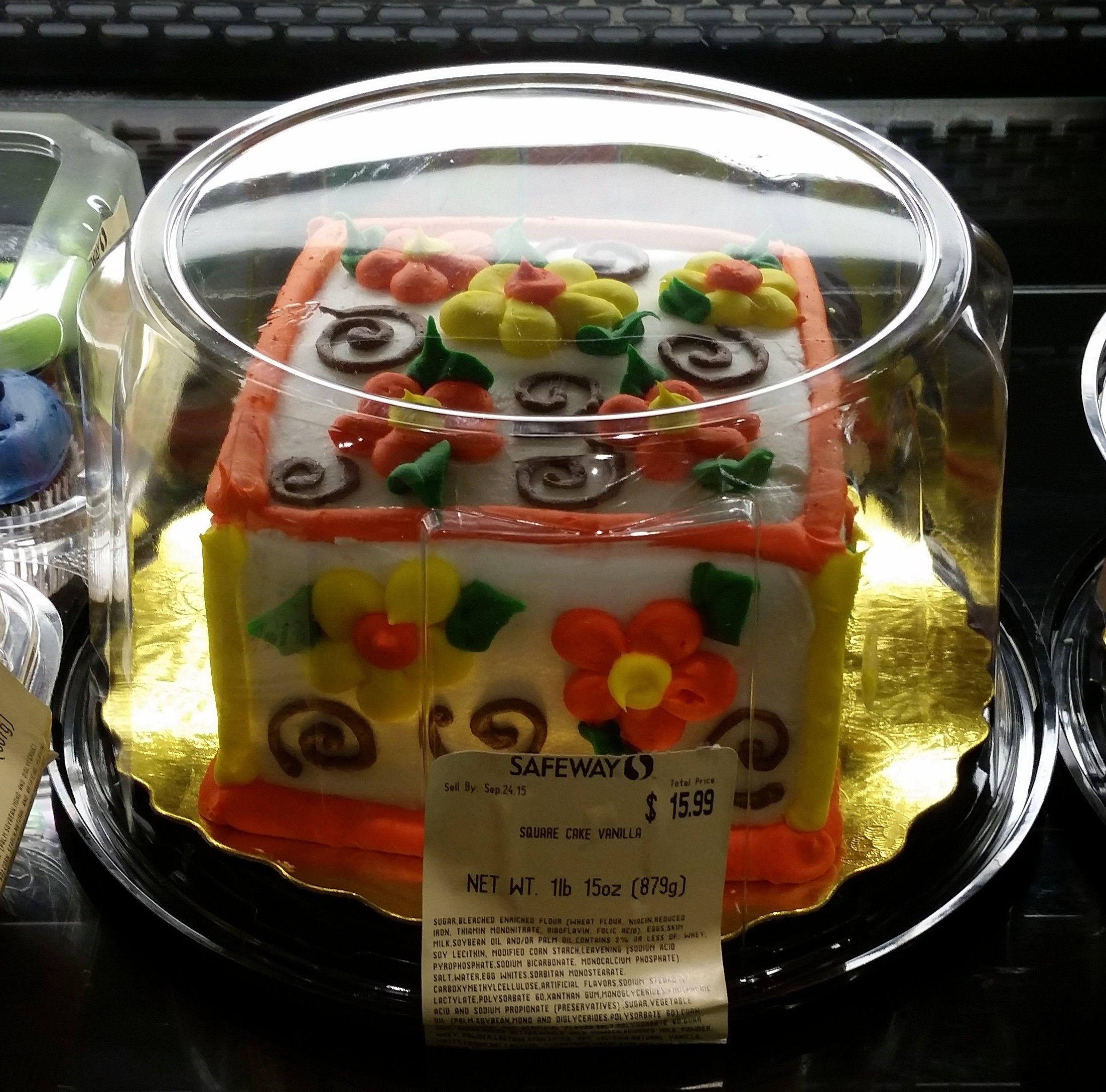 Safeway Cakes Flavors