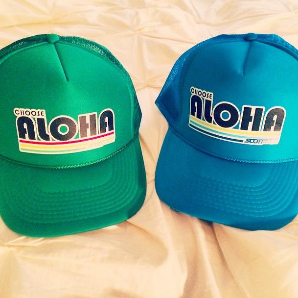 Aloha trucker hats!  86ce69a5d21f