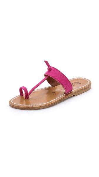 K. Jacques Ganges Suede Sandals - Velours Framboise - http://musteredlady.com/k-jacques-ganges-suede-sandals-velours-framboise-2/  .. http://goo.gl/rblfR7 |  MusteredLady.com