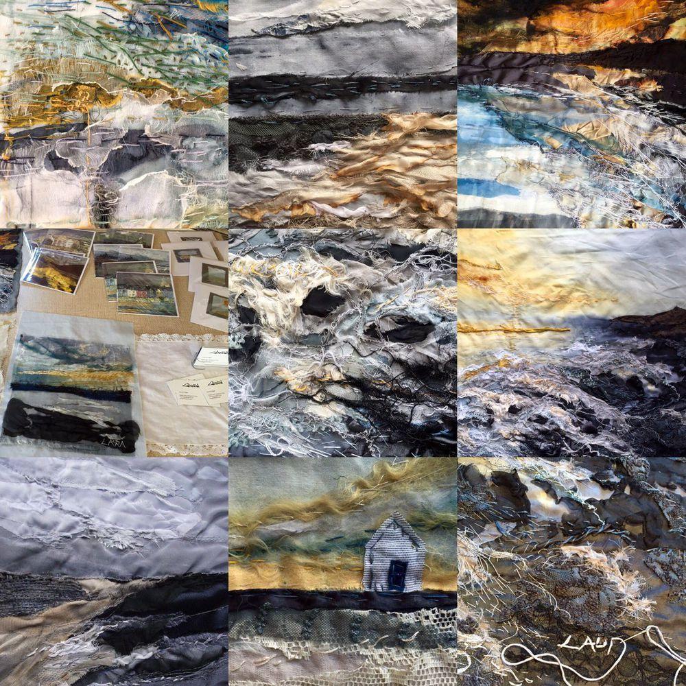 Арт-текстиль: 49 удивительных работ от 9 талантливых мастеров - Ярмарка Мастеров - ручная работа, handmade