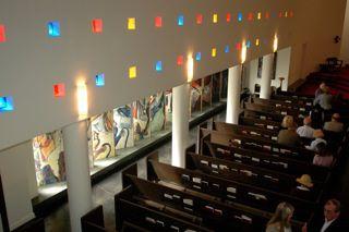 Interior of St Ann Chapel [photograph courtesy Thomas Sacco] André Girard (1901-1968)