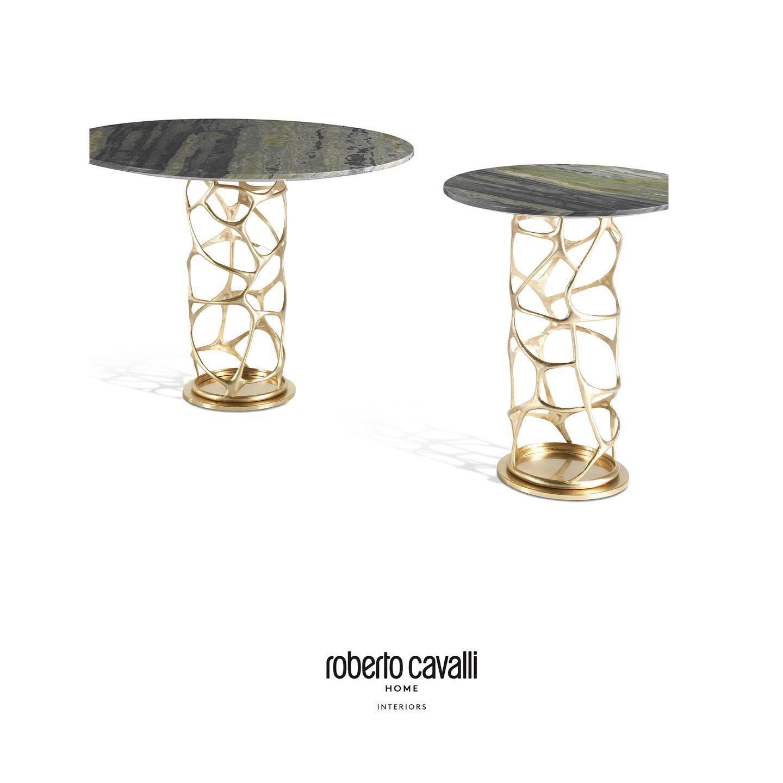 Sioraf Side Table Roberto Cavalli Home Interiors Robertocavallihome Robertocavallihomeinteriors Luxury Furniture Design Interiordesign [ 1440 x 1440 Pixel ]