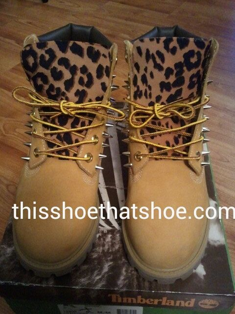 Woman/ Men Custom Timberland boots with by thisshoethatshoe