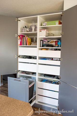 How To Assemble An Ikea Sektion Pantry Infarrantly Creative Ikea Pantry Ikea Kitchen Pantry Ikea Pantry Organization